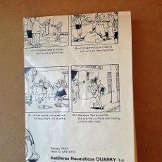 Cómics: COMIC FOLLETO CANTIMPLORA NEUMATICA DUARRY - TINET Y C. CASTANYS - 1974. Lote 79072225