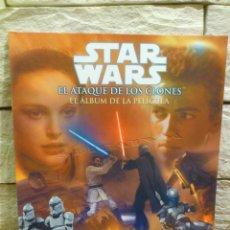 Cómics: STAR WARS - ALBUM DE LA PELICULA - EP. II - EL ATAQUE DE LOS CLONES - 2002 - LUCAS BOOKS - NUEVO. Lote 103798876