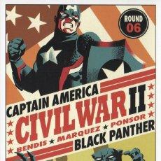 Comics: MARVEL CIVIL WAR IIDE FRANK CHO LÁMINA PROMOCIONAL MARVEL COMICS R6. Lote 80065261
