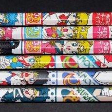 Cómics: SAILOR MOON LAPIZ LOTE 6 LAPICES DIFERENTES ORIGINALES BANPRESTO JAPON. Lote 86401968