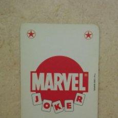 Fumetti: CARTA - NAIPE - MARVEL COMICS - VITRINA - SUPER HEROES 2005 - JOKER ROJO. Lote 87099784