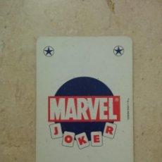 Fumetti: CARTA - NAIPE - MARVEL COMICS - VITRINA - SUPER HEROES 2005 - JOKER AZUL. Lote 87099788