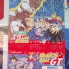 Comics: BLISTER VACIO BOOSTER ENVOLTORIO DRAGON BALL GT PP CARDS. Lote 88201628