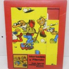 Comics : PUZZLE LABERINTO MORTADELO Y FILEMON 20 X 17 CMTS., ANDREFER AÑOS 80. Lote 89493592