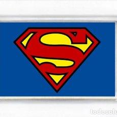 Cómics: IMAN ACRILICO NEVERA - COMIC SUPERHEROES SUPERMAN. Lote 90489749