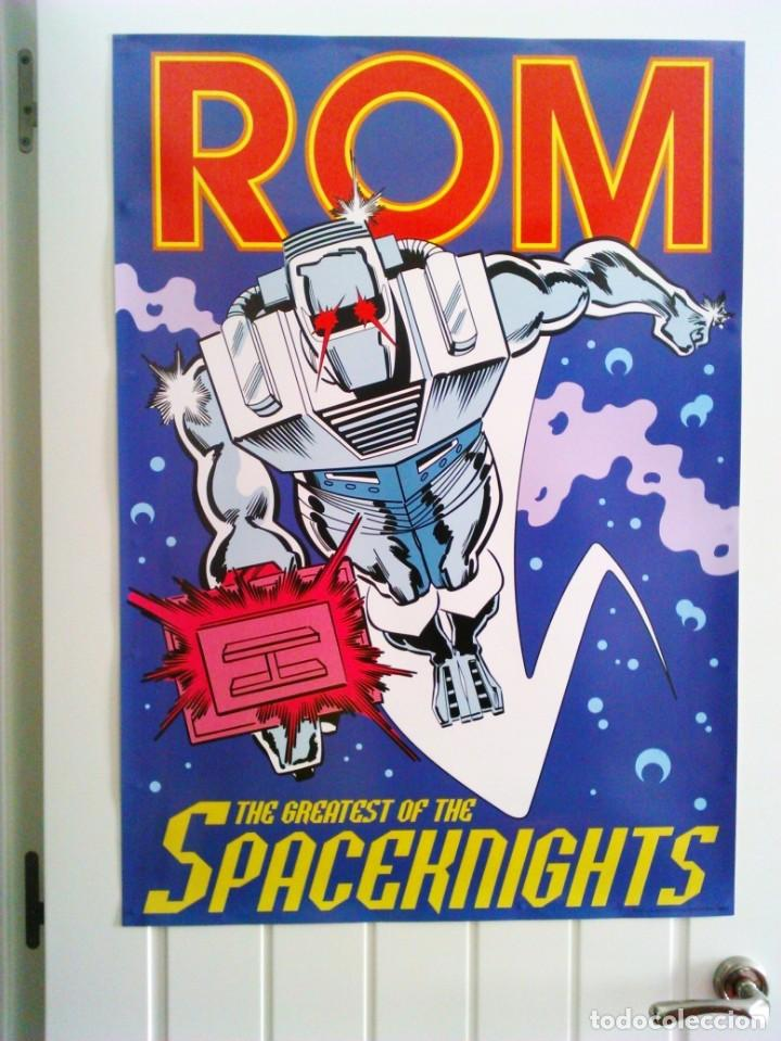 ROM POSTER GIGANTE ORIGINAL (Tebeos y Comics - Comics Merchandising)