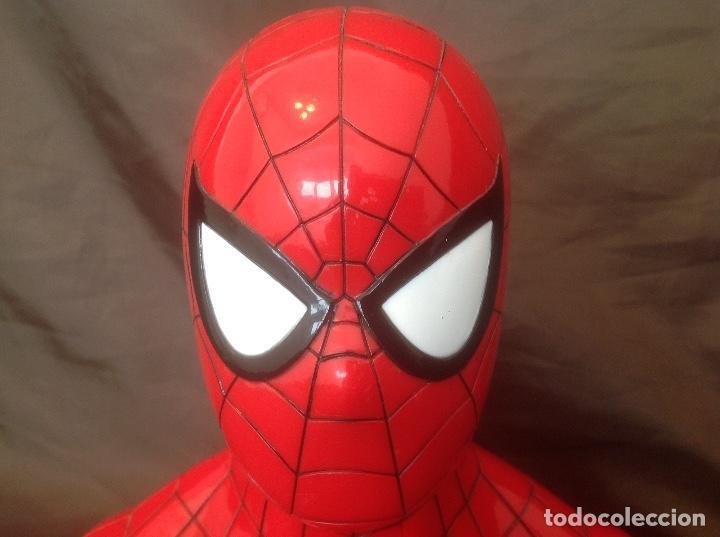 Cómics: Hucha Busto Spiderman clásico 2012 DM Marvel & Subs. - Foto 2 - 94040660