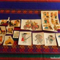 Cómics: CALCOMANÍA TOM Y JERRY, CIRCO, INFANTIL MARCA MECHIPITO, ORTEGA CALCOMANÍAS, CARAMELO TOM JERRY 1959. Lote 95738563
