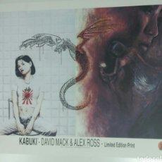Comics : ALEX ROSS Y DAVID MACK -KABUKI LIMITED PRINT. Lote 95906262