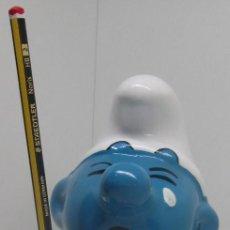Figura ceramica pitufo hucha / portalapiz?? 22 cmts. pitufos smurf Smurfs Schlumpf Puff KRAMIKA s.a.