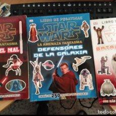 Cómics: 3 LIBROS DE PEGATINAS DE STAR WARS. Lote 98693975