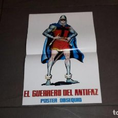 Cómics: POSTER GUERRERO DEL ANTIFAZ. POSTER OBSEQUIO. Lote 101290399