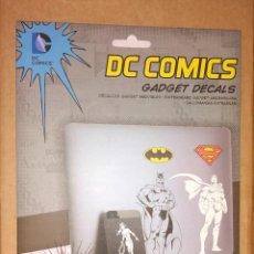 Cómics: 18 PEGATINAS/VINILOS PARA GADGETS (PORTÁTIL, SMARTPHONE, TABLET) DE DC COMICS - NUEVO. Lote 103458839