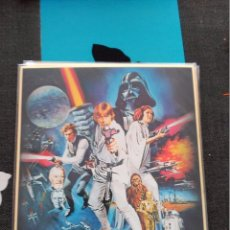 Cómics: AUTOGRAPH BOARD SHIKISHI ART JAPAN LA GUERRA DE LAS GALAXIAS STAR WARS WAR. Lote 103738715