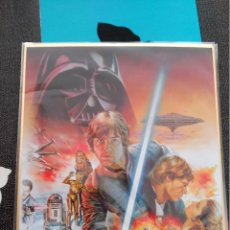 Cómics: AUTOGRAPH BOARD SHIKISHI ART JAPAN LA GUERRA DE LAS GALAXIAS STAR WARS WAR. Lote 103738739