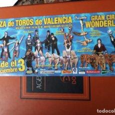 Comics : ENTRADA CIRCO WONDERLAND MADAGASCAR PLAZA DE TOROS DE VALENCIA. Lote 218720453