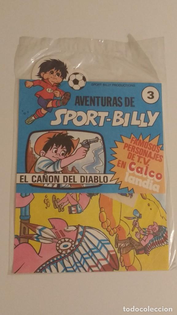 AVENTURAS DE SPORT BILLY - CALCOLANDIA - MUNDIAL 82 - Nº 3 COMERCIAL 82 SA PRECINTADO (Tebeos y Comics - Comics Merchandising)