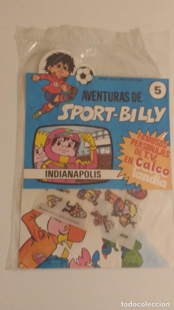 AVENTURAS DE SPORT BILLY - CALCOLANDIA - MUNDIAL 82 - Nº 5 COMERCIAL 82 SA PRECINTADO (Tebeos y Comics - Comics Merchandising)