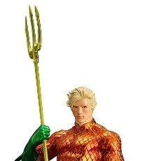 Cómics: AQUAMAN NEW 52 ESTATUA UNOS 19 CM - KOTUBUKIYA. Lote 106560275