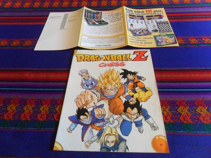 Cómics: ARCHIVADOR DRAGONBALL DRAGON BALL Z CHESS CON CATÁLOGO Y PETICIÓN COMERCIAL. RARO. - Foto 4 - 47106058