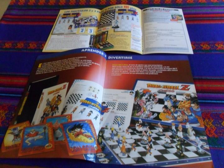 Cómics: ARCHIVADOR DRAGONBALL DRAGON BALL Z CHESS CON CATÁLOGO Y PETICIÓN COMERCIAL. RARO. - Foto 5 - 47106058