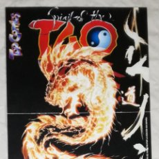 Cómics: POSTER DOBLE TOP COMICS: SPIRIT OF THE TAO / ASCENSION (EI). Lote 109641787
