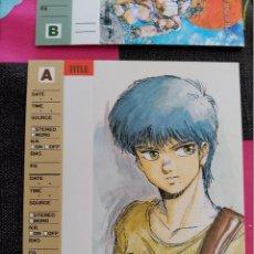 Comics: MASAMUNE SHIROW BLACK MAGIC TAPE CARD INDEX. Lote 109712319