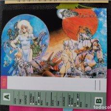 Comics: MASAMUNE SHIROW BLACK MAGIC TAPE CARD INDEX. Lote 109712323