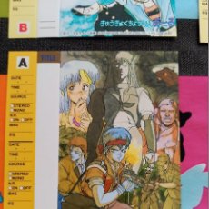 Comics: MASAMUNE SHIROW BLACK MAGIC TAPE CARD INDEX. Lote 109712503