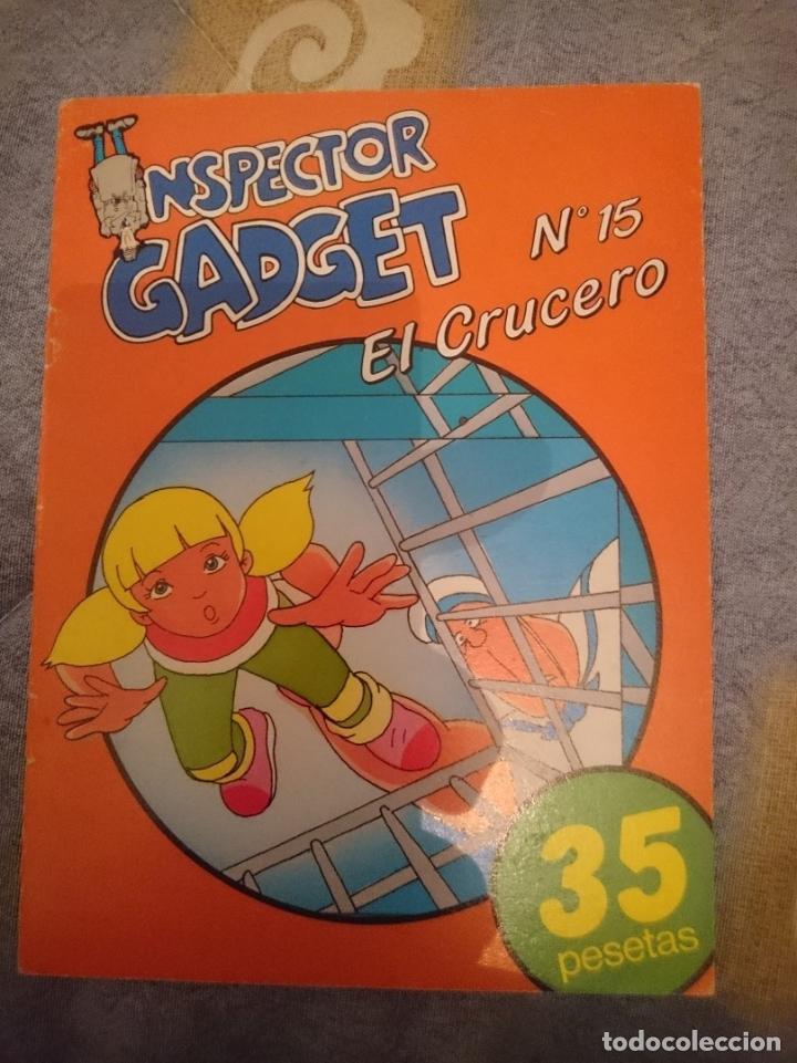 COMIC - INSPECTOR GADGET N 15 - EL CRUCERO (Tebeos y Comics - Comics Merchandising)