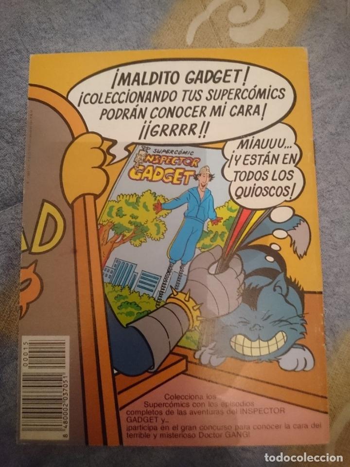 Cómics: COMIC - INSPECTOR GADGET N 15 - EL CRUCERO - Foto 2 - 110680615