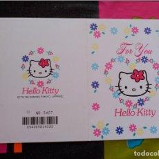 Comics : HELLO KITTY POSTCARD SANRIO JAPAN. Lote 110931811