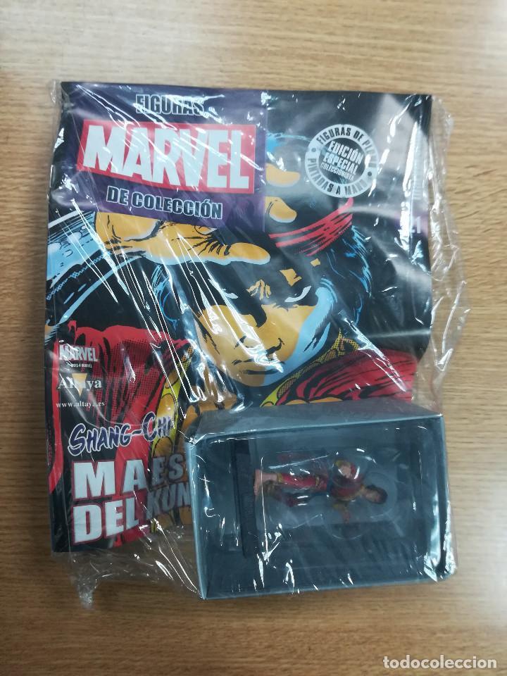 FIGURAS MARVEL DE COLECCION #121 SHANG CHI (Tebeos y Comics - Comics Merchandising)