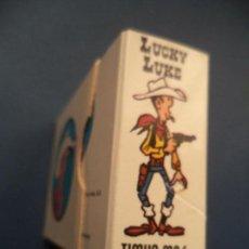 Cómics: LUCKY LUKE LIBRITO ACORDEON CON LOS PERSONAJES. Lote 112425695