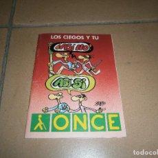 Cómics: FORGES - LOS CIEGOS Y TU - COMIC PROMOCIONAL ONCE - COMPLETO CON PEGATINAS. Lote 113225263