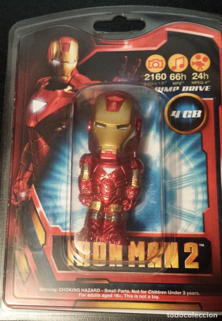 Pendrive Iron Man 2 2010 Usb 2 0 4gb Buy Merchandising Comics And Tebeos At Todocoleccion 116415083