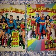 Cómics: SUPER FRIENDS 2 VOLUMENES RECOPILANDO 17 NÚMEROS DE LA SERIE ORIGINAL DE LOS AÑOS '70. Lote 116935531