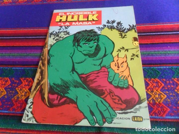 El Increible Hulk La Masa Cuaderno Para Colorear Sin Uso Laida 1981 Muy Buen Estado Y Muy Raro