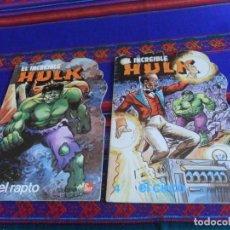 Fumetti: TROQUELADOS EL INCREÍBLE HULK Nº 1 EL RAPTO Y 4 EL CIRCO. FHER . MUY BUEN ESTADO.. Lote 120310763