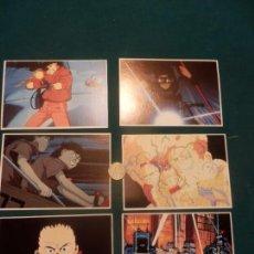 Comics : AKIRA - LOTE 6 POSTALES - RECORD VISION. Lote 123559567