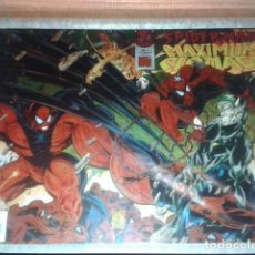 Cómics: SPIDER-MAN MAXIMUM CLONAGE ALPHA Y OMEGA - FRAMED PÓSTER - SPIDERMAN LAMINAS CHROMIUM. Lote 126841119
