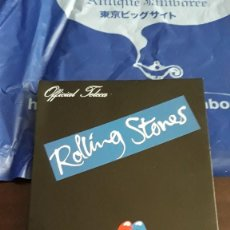 Cómics: ROLLING STONES STEEL WHEELS JAPAN TOUR 1990 MEMORABILIA SPECIAL POSTCARD JAPAN . Lote 128644007