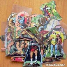 Cómics: PERSONAJES DE EL GUERRERO DEL ANTIFAZ - FIGURAS TROQUELADAS -EDIT. VALENCIANA - VER FOTOS INTERIORES. Lote 132789042