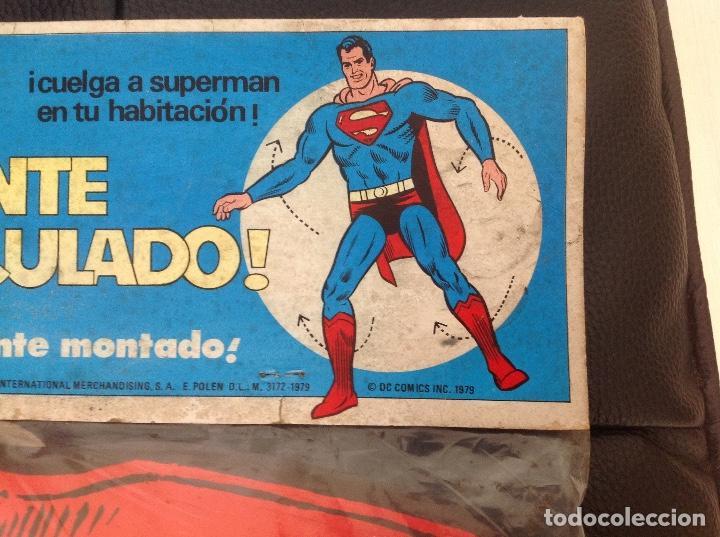 Cómics: Muy difícil Superman articulado en cartoné 1,60 cm año 1979 Ediciones Polen Romagosa - Foto 5 - 133283042