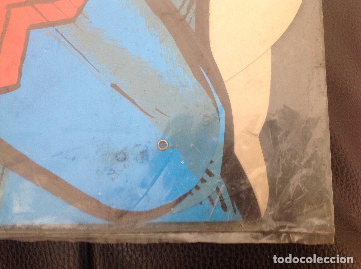Cómics: Muy difícil Superman articulado en cartoné 1,60 cm año 1979 Ediciones Polen Romagosa - Foto 8 - 133283042
