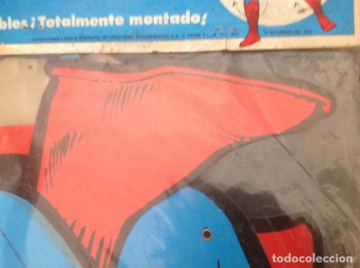 Cómics: Muy difícil Superman articulado en cartoné 1,60 cm año 1979 Ediciones Polen Romagosa - Foto 12 - 133283042