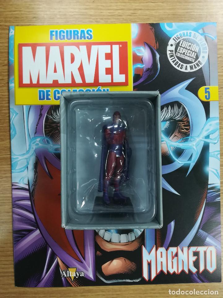 FIGURAS MARVEL DE COLECCION #5 MAGNETO (Tebeos y Comics - Comics Merchandising)
