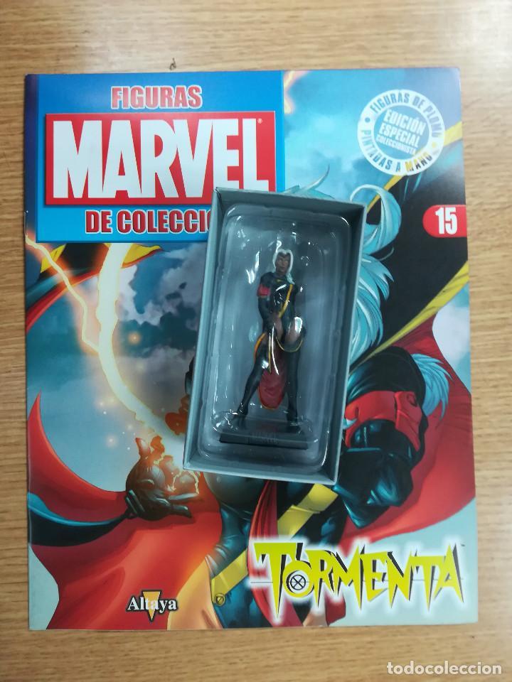 FIGURAS MARVEL DE COLECCION #15 TORMENTA (Tebeos y Comics - Comics Merchandising)