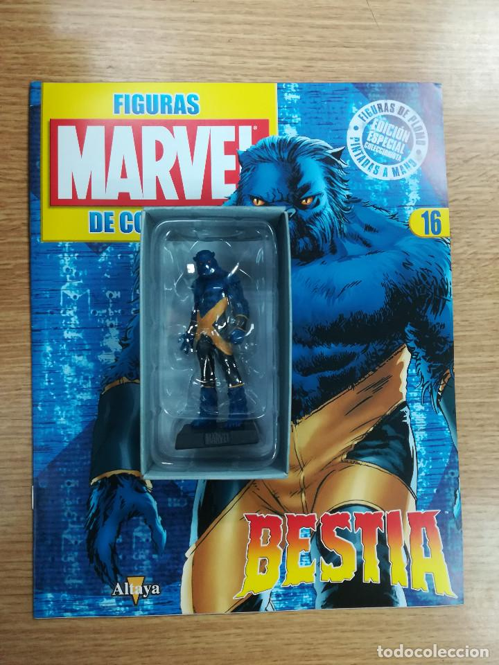 FIGURAS MARVEL DE COLECCION #16 BESTIA (Tebeos y Comics - Comics Merchandising)