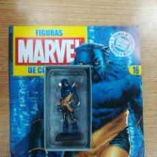 Cómics: FIGURAS MARVEL DE COLECCION #16 BESTIA. Lote 133526450